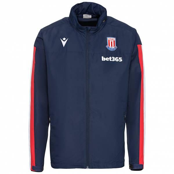 Stoke City macron Herren Windbreaker Jacke 58014894