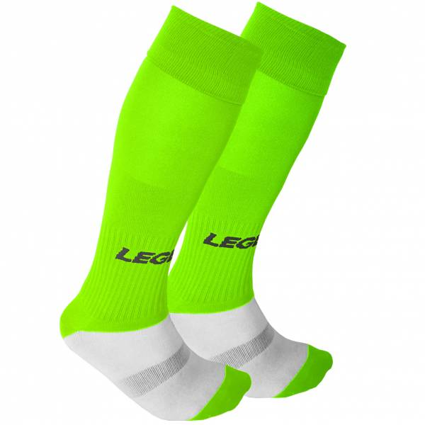 Legea Mondial Socks neon green