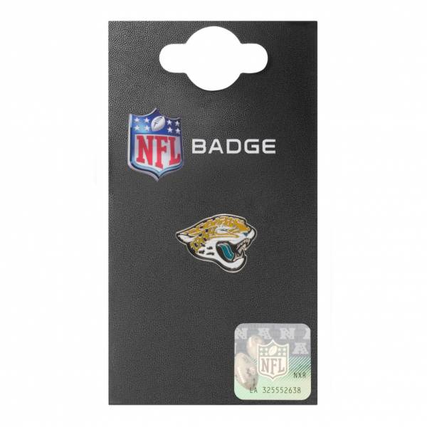Jacksonville Jaguars NFL Metall Wappen Pin Anstecker BDEPCRSJJ