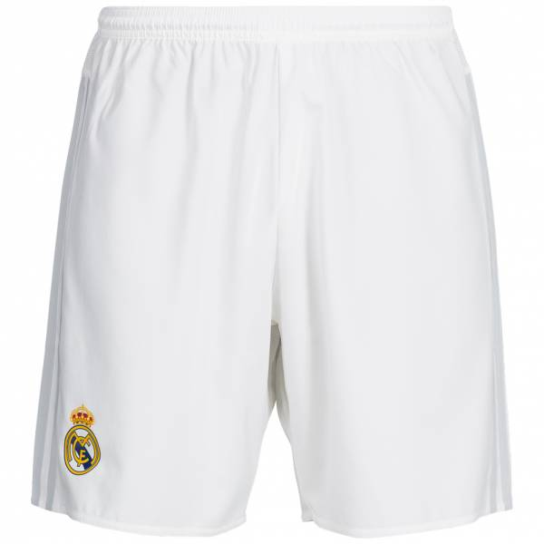 Real Madrid adidas home shorts kids S12616