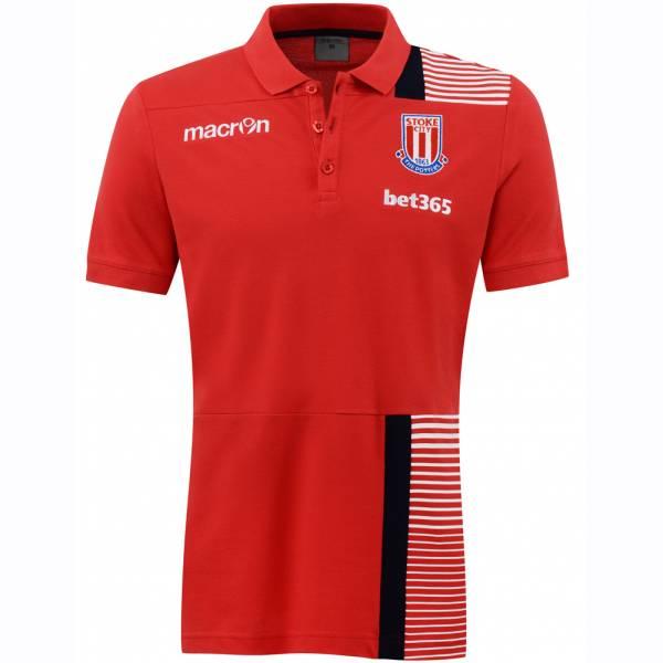 Stoke City FC macron Herren Fan Polo-Shirt 58077098