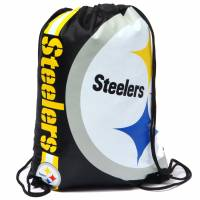 Borsa da palestra zaino Pittsburgh Steelers NFL con coulisse LGNFLCLGYMPS