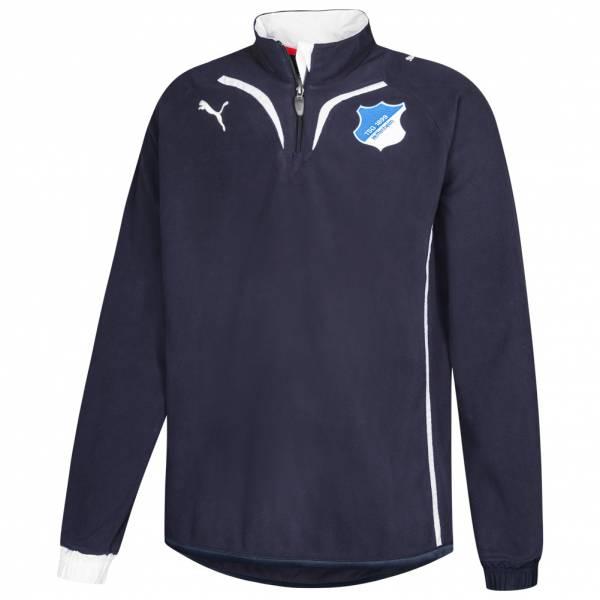 TSG 1899 Hoffenheim PUMA 1/2 Zip Fleece Sweatshirt 737023-01