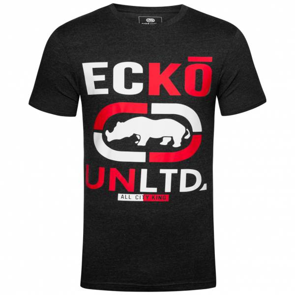 Ecko Unltd. Brands Hatch Herren T-Shirt ESK04300 Heather Charcoal