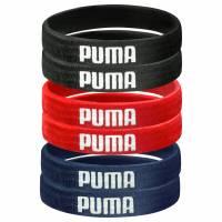 PUMA 6er-Pack Sport Haargummis 050594-07