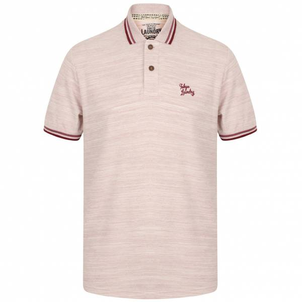 Tokyo Laundry Newburg Polo-Shirt 1X10739 Dusty Pink