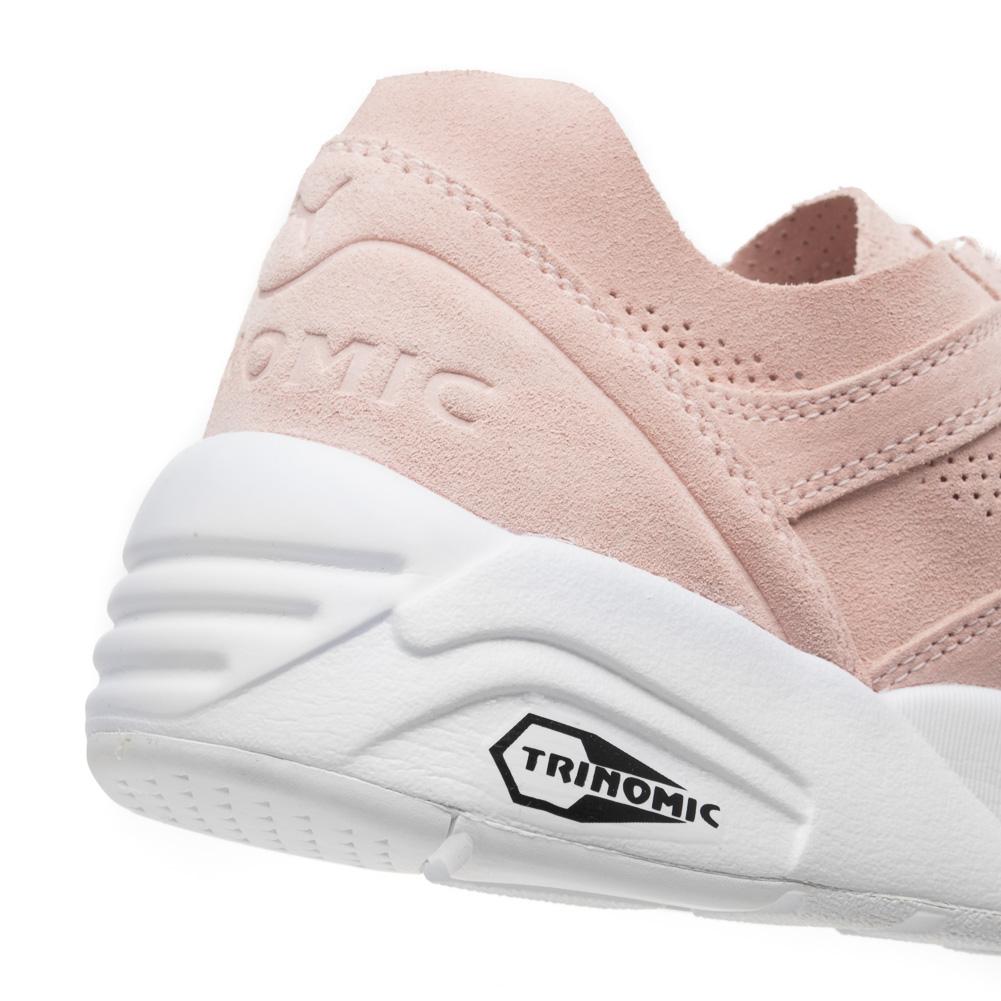 acheter en ligne 7381d 791b3 PUMA R698 Soft Pack Unisex Trinomic Schuhe Leder Sneaker 360104-04