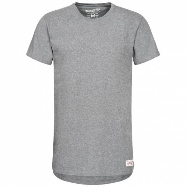 Mitchell & Ness Long Lenght Tailored Herren T-Shirt LONGLENGTHTEE-GRH
