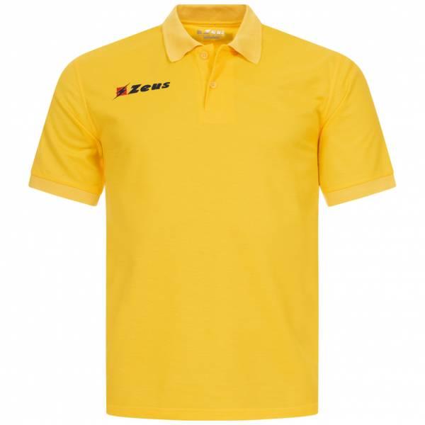 Zeus Basic Herren Poloshirt gelb