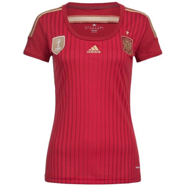 Spanien adidas Damen Heim Trikot G85230