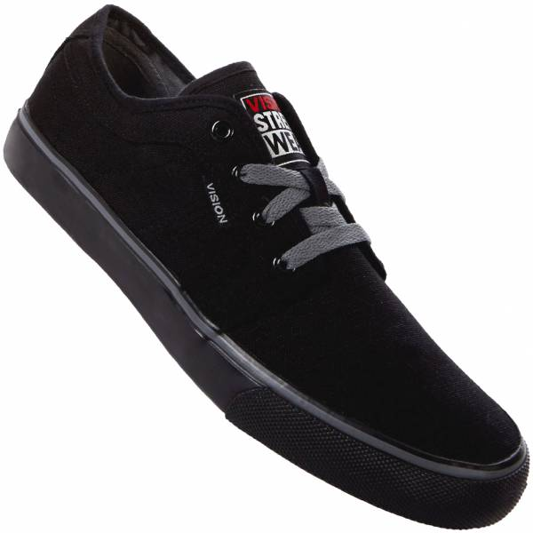 Vision Street Wear Optic 13 Canvas Hombre Sneakers 246018-NEGRO
