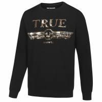 True Religion Trucci Sequin Crew Hommes Sweat-shirt M19HF28N7G-4005
