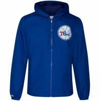 Mitchell & Ness Philadelphia 76ers Herren Windbreaker FLZPMG18045-P76ROYA