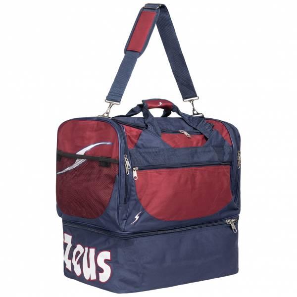 Zeus Borsa Delta Fußball Tasche Navy Dunkelrot