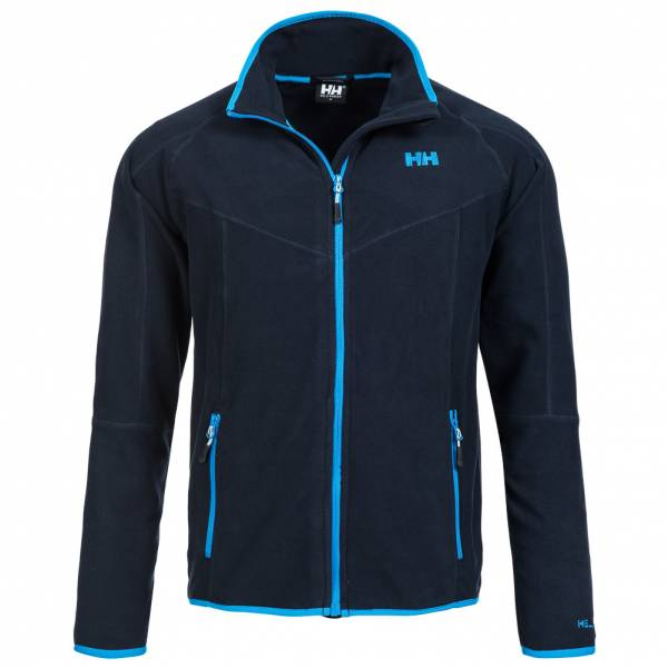 Helly Hansen Uomo Full Zip Giacca in pile blu scuro