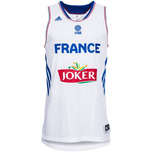 Maillot de basketball France adidas équipe nationale S04505