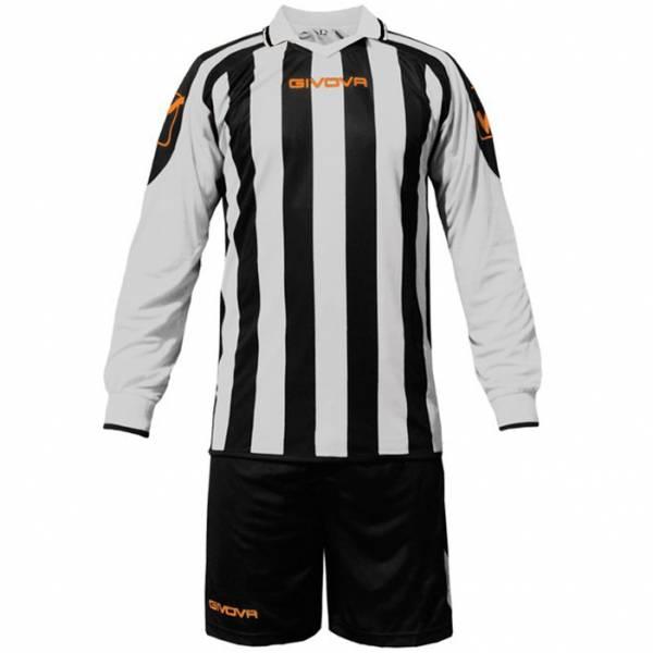 Givova Kit Rumor Fußball Set Langarm Trikot + Short KITC25-1003