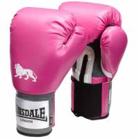 Lonsdale Pro Training boxing gloves pink