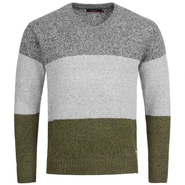 Pierre Cardin Herren Sweatshirt mit Metall-Logo