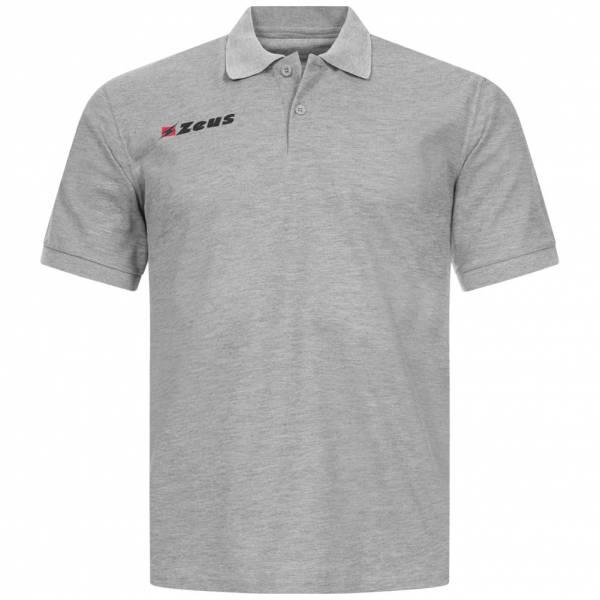 Zeus Basic Herren Polo-Shirt grau