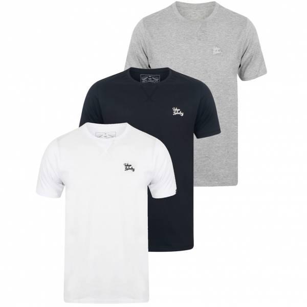 Tokyo Laundry Koppelo Herren 3er Pack T-Shirts 1Q11467