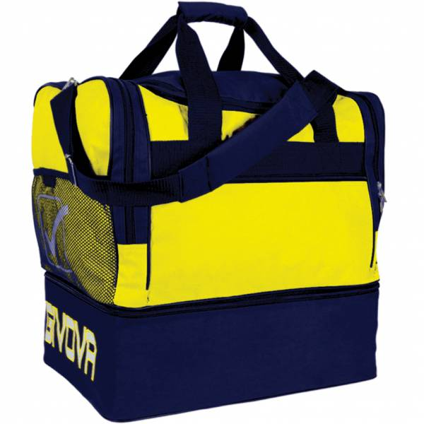 Givova Borsa Football Bag yellow / navy
