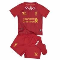 Liverpool FC Warrior Baby Mini Kit Heim Trikot Set WSTB303-HRD