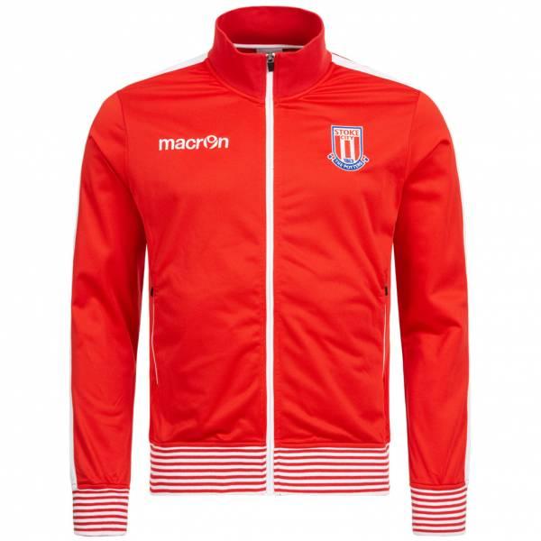 Stoke City FC macron Herren Freizeit Jacke 58077096