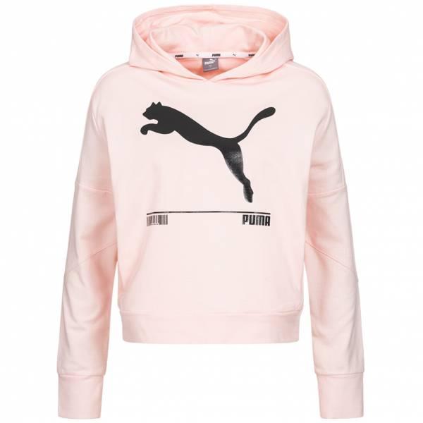 PUMA NU-TILITY Hoodie Damen Kapuzen Sweatshirt 582780-17