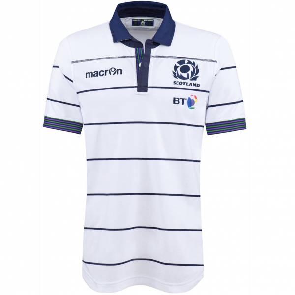 Schottland SRU macron Rugby Herren Auswärts Trikot 58080303