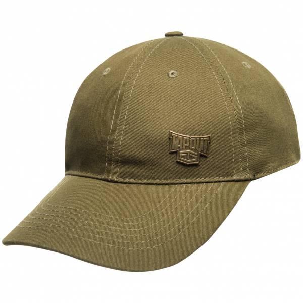 Tapout Classic Cap Kappe mit Metalllogo Army Green