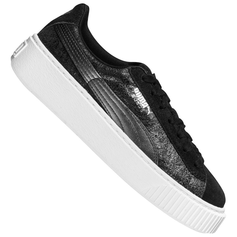 Sneaker PUMA Basket Platform pour femmes Safari 364594 03