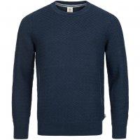 Timberland Mill River Herren Textured Linen Jumper Sweatshirt A1A5J-434