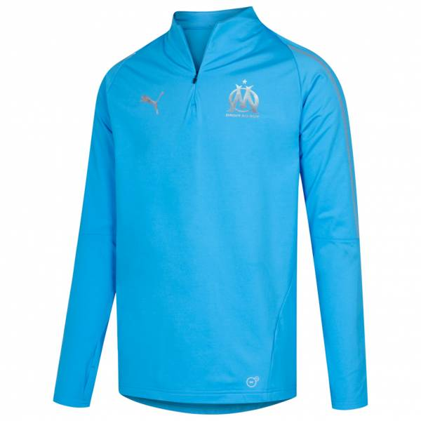Olympique Marseille PUMA 1/4-Zip Trainings Sweatshirt 753984-03