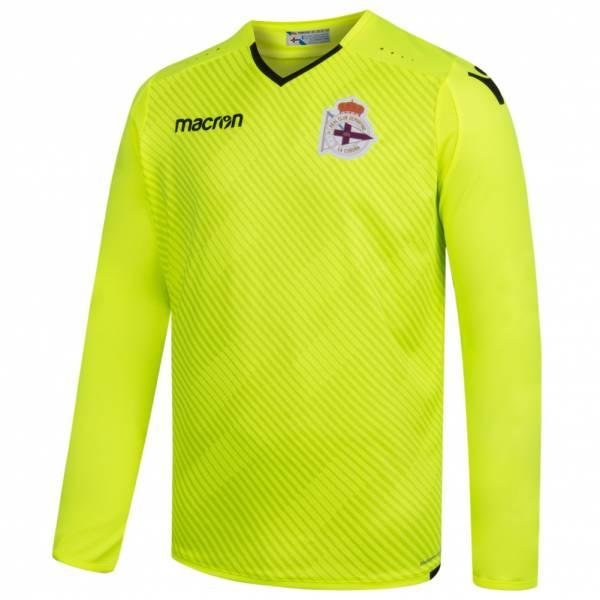 Deportivo La Coruna macron Herren Torwart Auswärts Trikot 58086951
