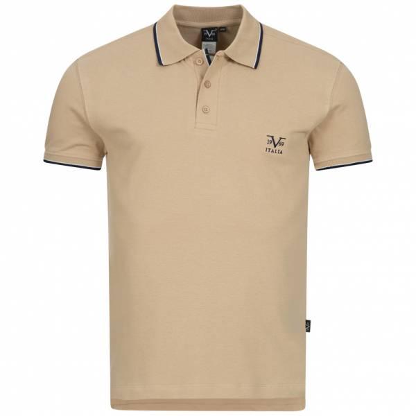 19V69 Versace 1969 Costina Herren Freizeit Polo-Shirt VI20SS0005B beige