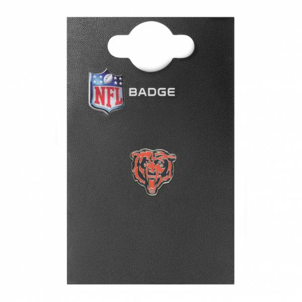 Chicago Bears NFL Metall Wappen Pin Anstecker BDNFLCRSCB