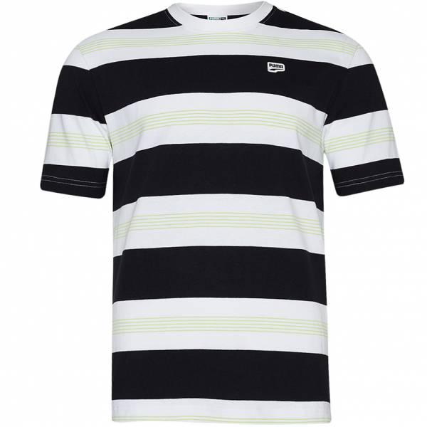 PUMA Downtown Striped Herren T-Shirt 599191-02