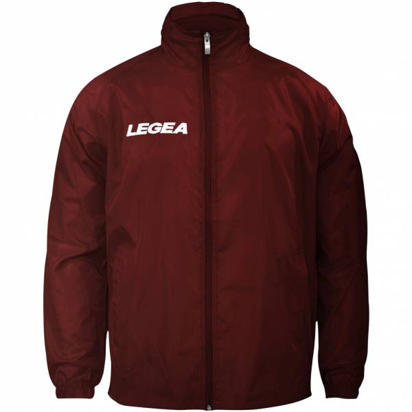 "Legea Rain Jacket ""Italia"" Teamwear dark red"