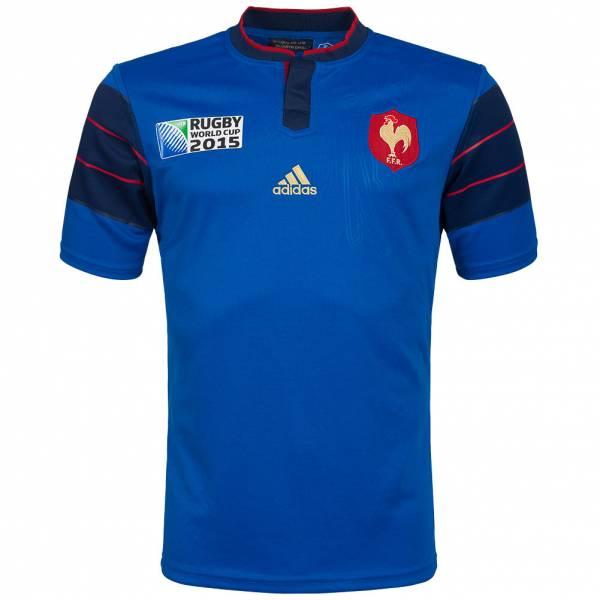 Frankreich adidas Rugby WM Heim Trikot A95802