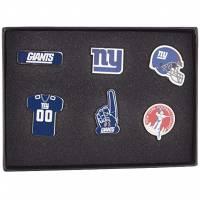New York Giants NFL Metall Pin Anstecker 6er-Set BDNFL6SETNG