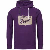 ASICS Onitsuka Tiger Hoody Men Hooded Sweatshirt 110984-0291 violet