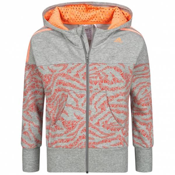 adidas Fun Kinder Kapuzen Sweatshirt S16426