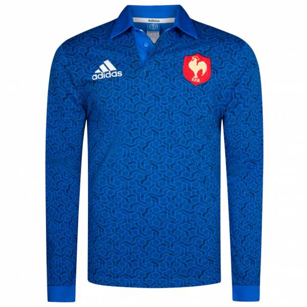 outlet store 46780 ceb0f France adidas Men's Rugby Jersey Jersey BR3313