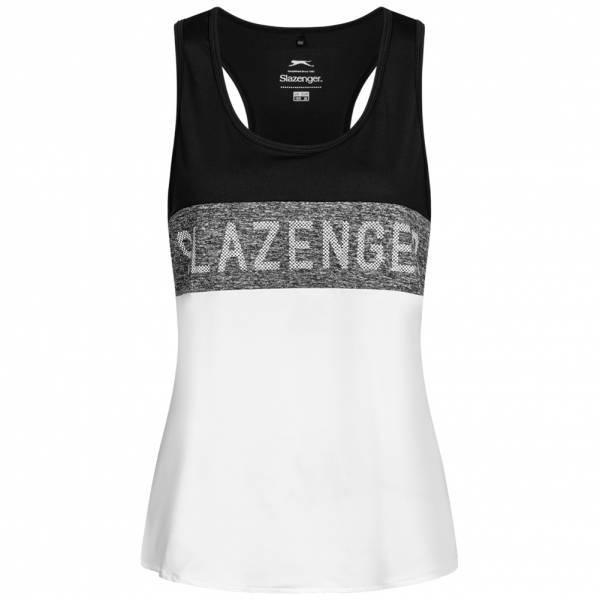 Slazenger Ennis A Line Vest Femmes Haut de fitness S047815A-BLK