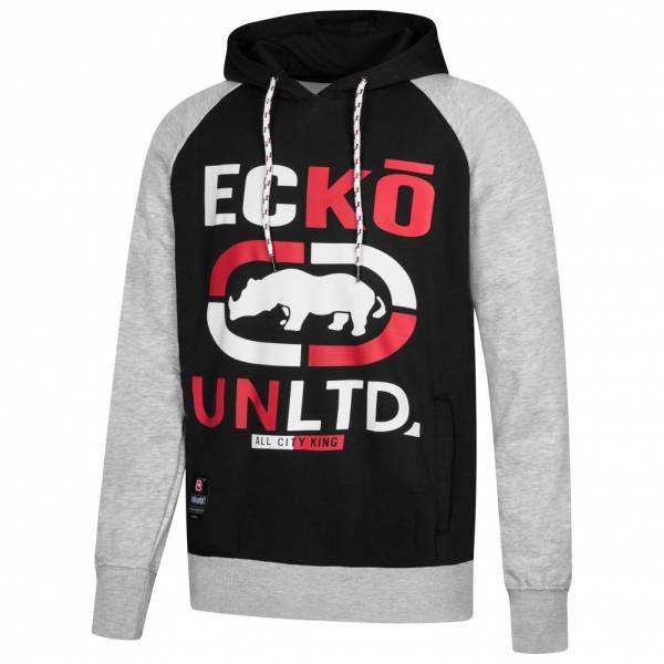 Ecko Unltd. Circuit Logo Hoody Herren Sweatshirt ESK4305 Ath Grey Marl