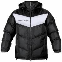 Givova winter jacket Giubbotto Podio black / white