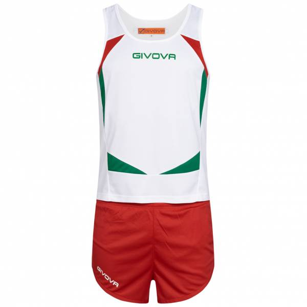 Givova Kit Sparta Leichtathletik Set Singlet + Short KITA05-0312