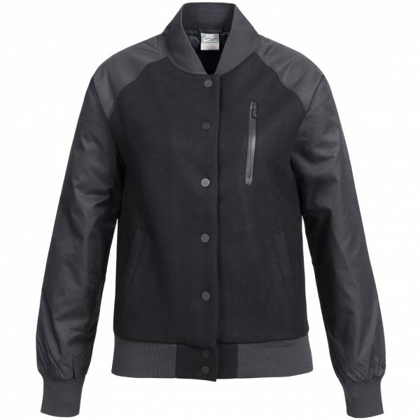 Nike Destroyer Varsity Baseball Jacket College Damen Jacke Wolle 394688-010