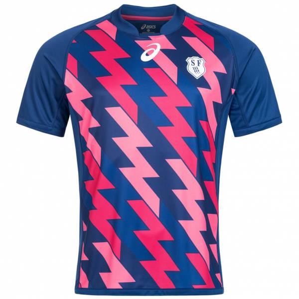 Stade Francais ASICS Rugby Camiseta primera equipación 134766RF-8029